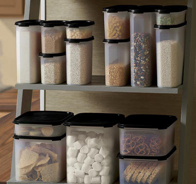 ... The Dry Goods In The Cupboard. You Could Even Add A Grocery Store Gift  Card To Help Fill The Containers! (Theyu0027d Be Very Heavy If You Bought The  Flour, ...